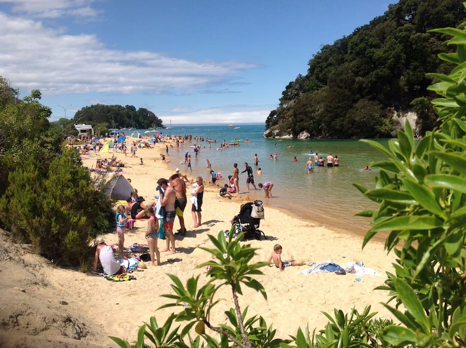 Our beach. The best in NZ