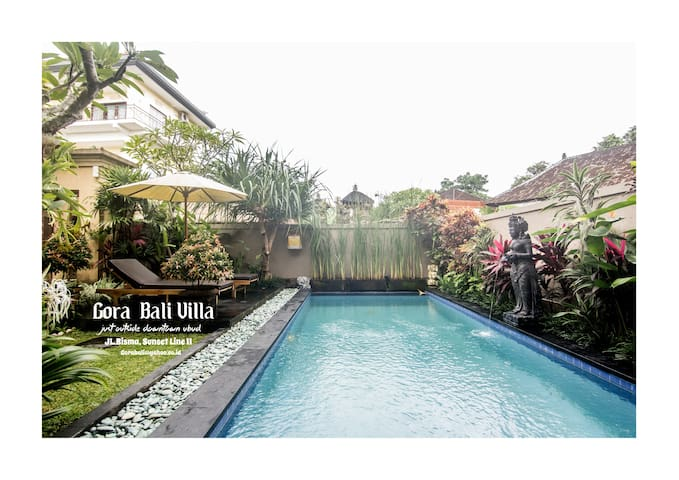 Gora Bali Villa ( Just Outside Downtown Ubud )