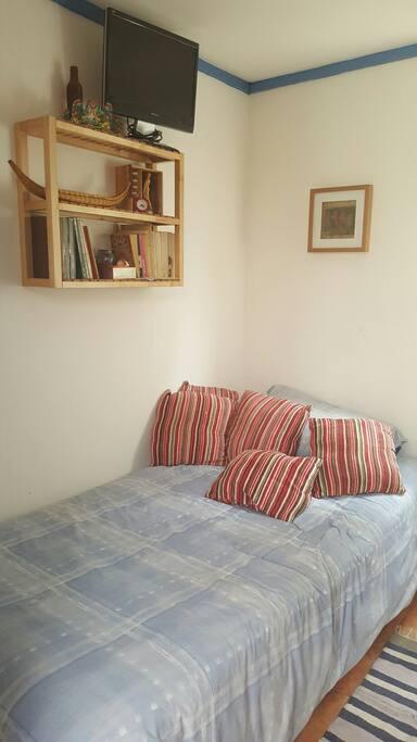 Este es TU dormitorio.