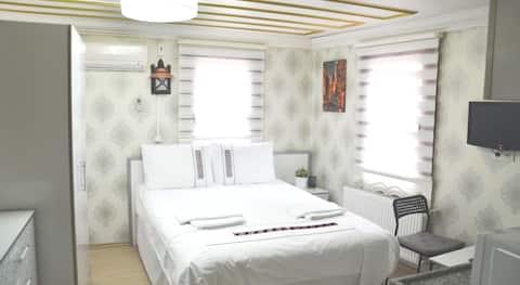 studio chambre double avec cuisine