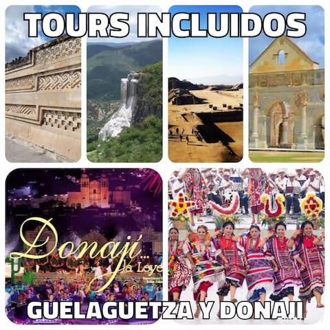 Hospedaje, Tours y Entradas  Guelaguetza en Oaxaca - Oaxaca - Rumah