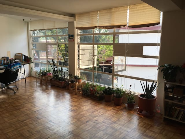Beautiful Room in Coyoacán - Cidade do México - Apartamento