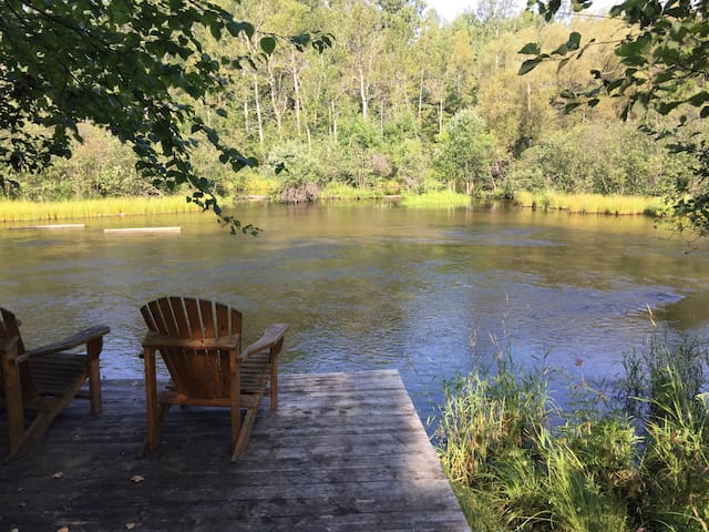 Riverfront Cabin - N Branch AuSable - Grayling
