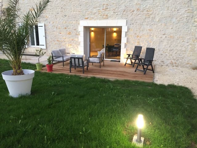 Maison direct# océan,Saintes à3 min - Pessines - Huis