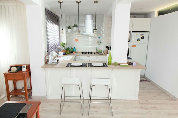 Cozy loft apartment near downtown. - València - Flat
