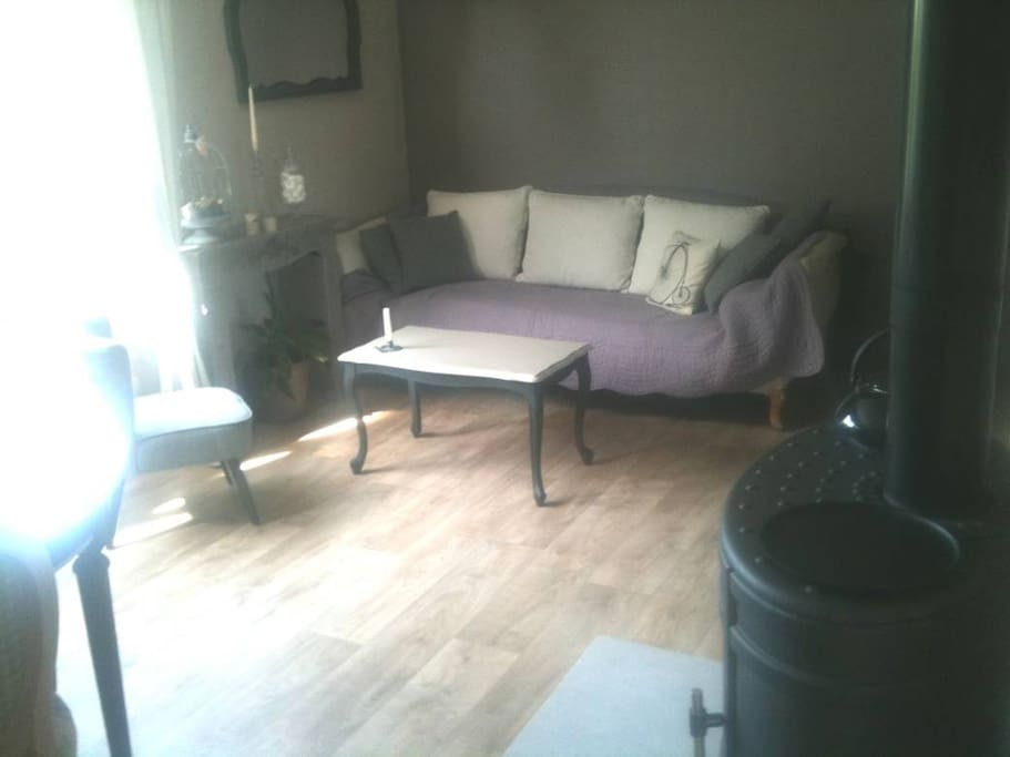 Salon côté canapé