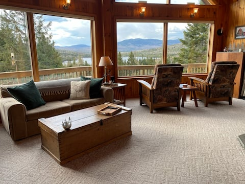 Rangeley Home with a View - Get Out of Dodge