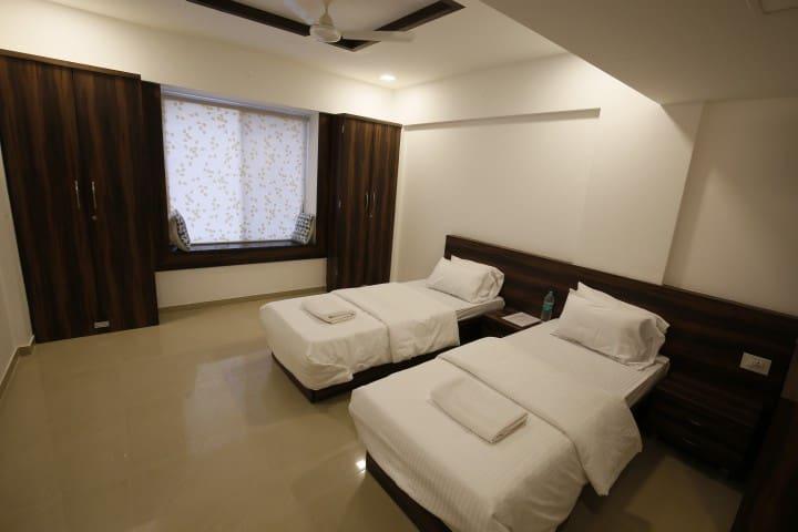 Quiet and calm private room - Pune - Apartamento