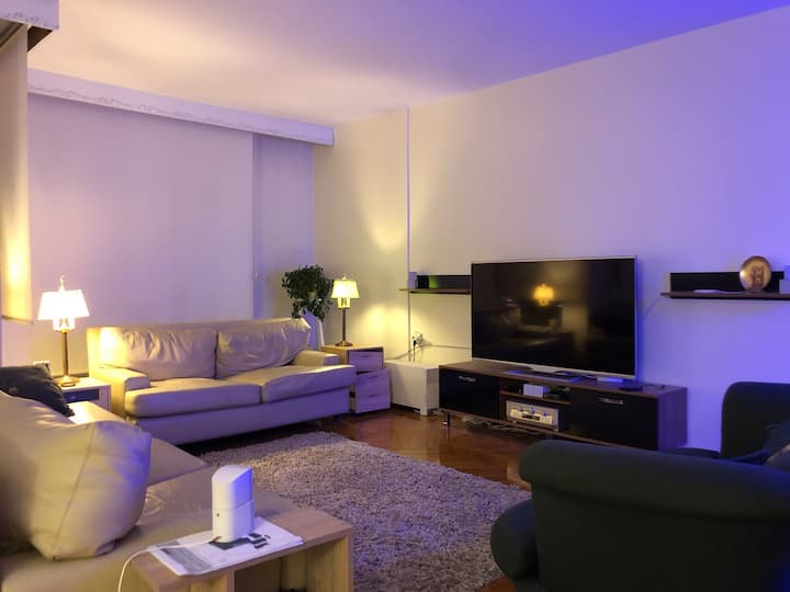 Huge and mid luxury apartment in the city center.