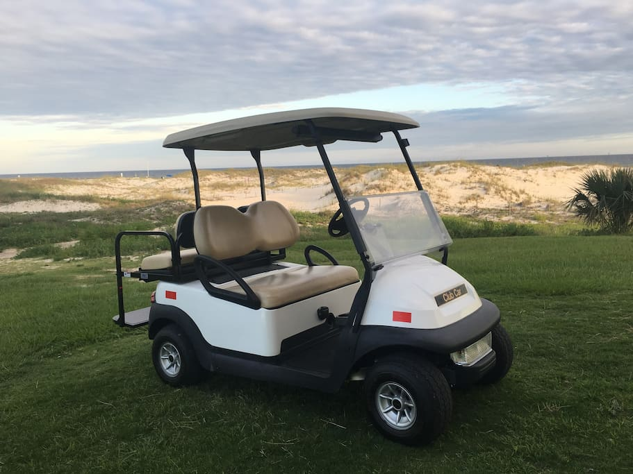 "Your own private ""Gulf"" Cart"