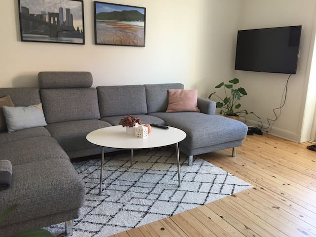 Graciously apartment in the city of Aarhus