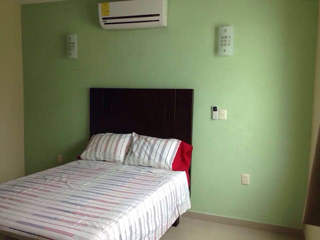 Depto amueblado edificio Bombay - Chetumal - Appartement