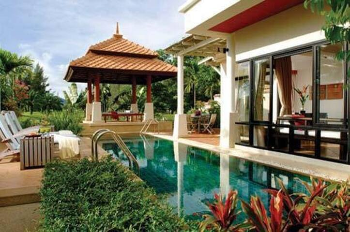 Luxury Private Pool Villa/Beach4BD