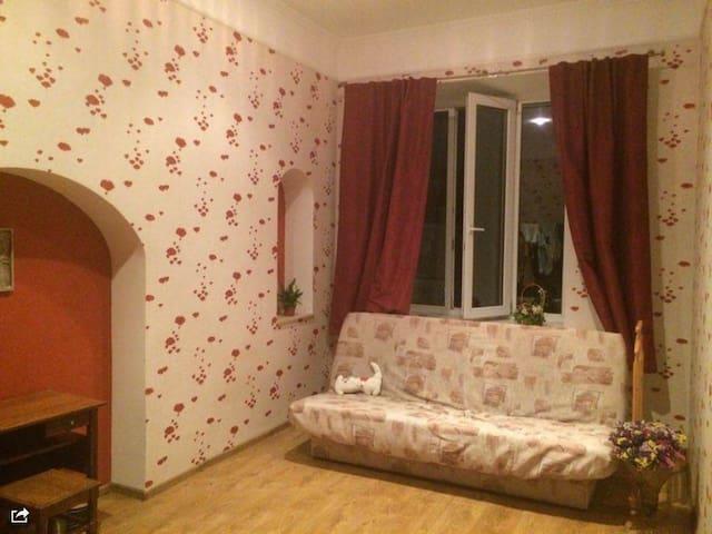 Room in a center. Olympic Stadium - Київ - Apartamento