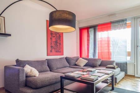 Geneva Attractive Central 2BR Apartment - Carouge - Lakás