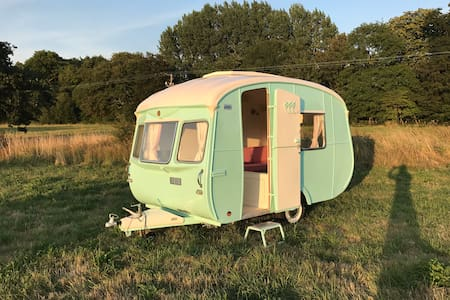 Glamping in  the Southdowns National Park, Sussex
