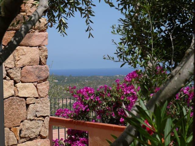 Ferienhaus mit Meerblick, Lu Fraili - Lu Fraili di Sopra - House
