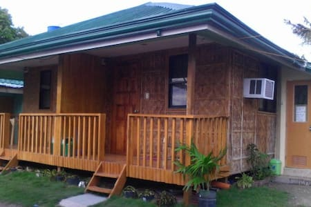 Room in bamboo lodge close to the sea! - Santa Fe - Apartmen