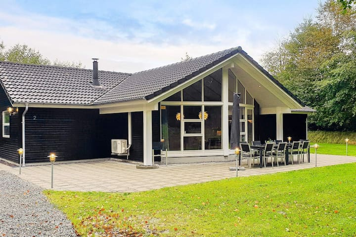 Spacious Holiday Home in Jutland With Relaxing Whirlpool