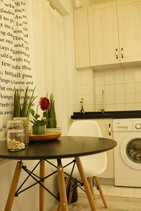 出租公寓内景带独立卫生间(三十平米)