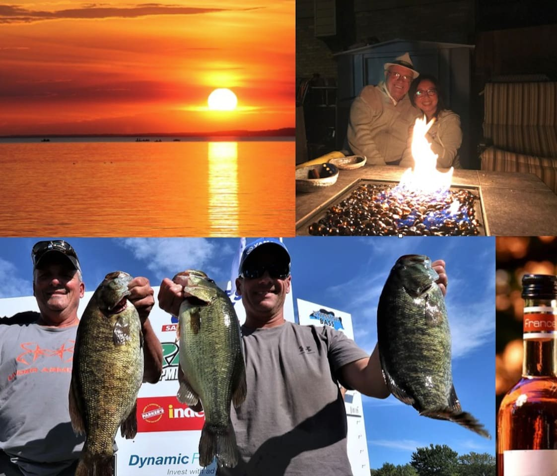 Multi-Variety FISHING Awesome DAILY SUNSET Nightly CAMPFIRE SING-ALONGS around campfire HUGE SCREEN  with LYRICS & Melody B.Y.O.B. fun & Frivolity in swapping nice stories and LI'L WHITE  LIES . but   Pick  Room Now BOOK  EARLY  OR  BE  DISAPPOINTED