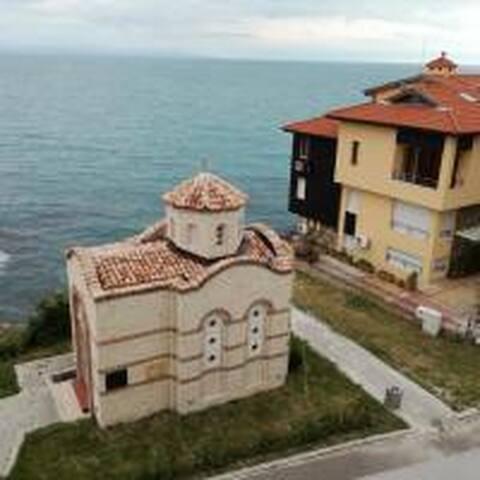Изглед от балкон