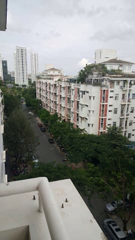City views and private balcony - P. Tan phong - Wohnung