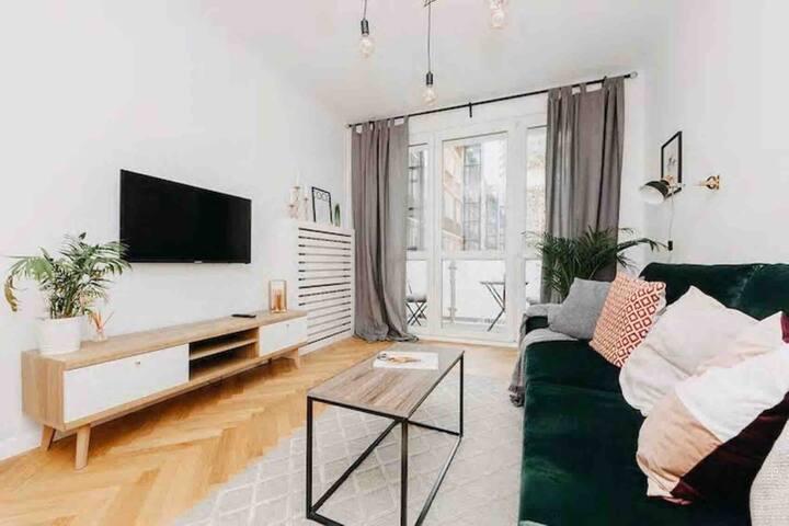 Comfortable apartment at Chmielna 27/31