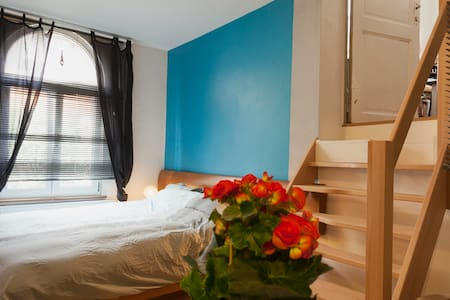 Flagey-Ixelles Bed and Breakfast confortable+stylé - Ixelles - Apartamento