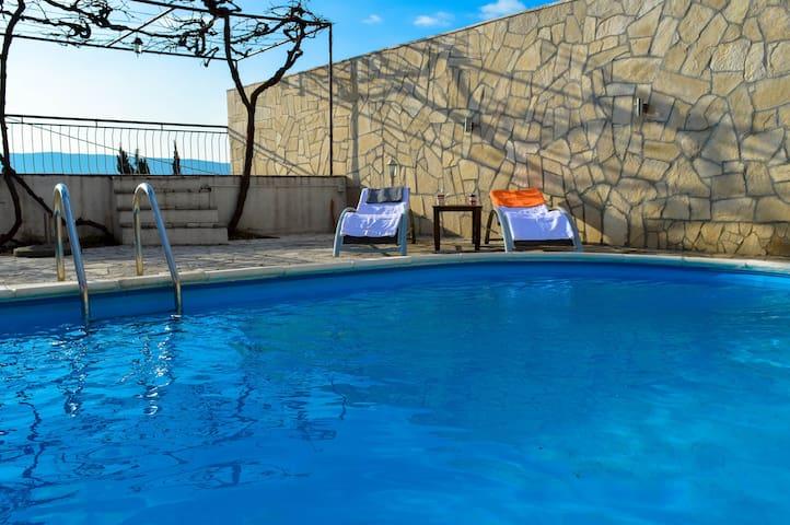 Villa with pool, Podi, Herceg Novi, - Herceg Novi - Villa