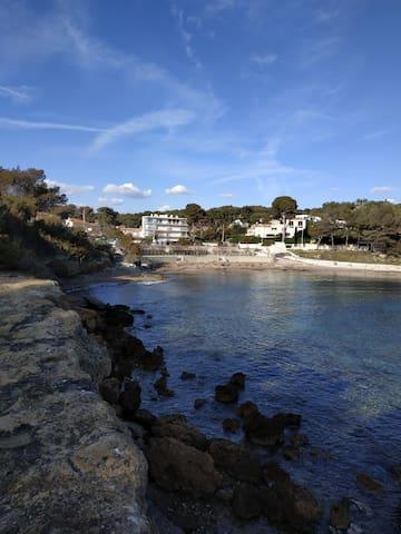 T1 32m2 vue à mer à 150m de la plage