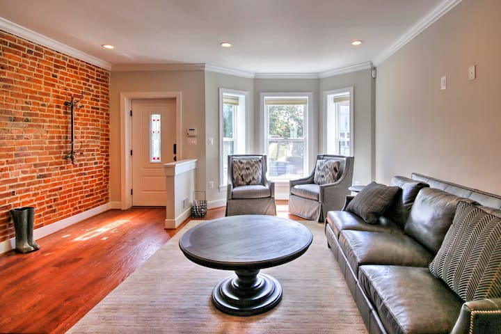 Modern D.C. Home w/ Deck & Yard Near Downtown!