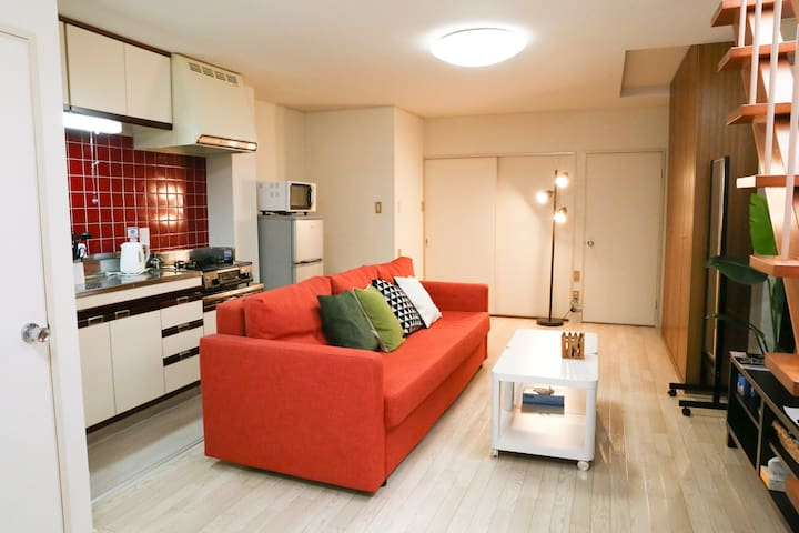 Exquisite Location & Luxury Flat(2min walk 松山市駅) - Matsuyama-shi - Huoneisto