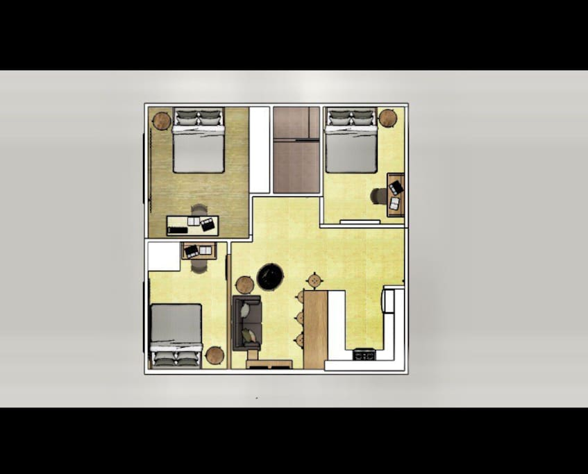 Whole unit floor plan
