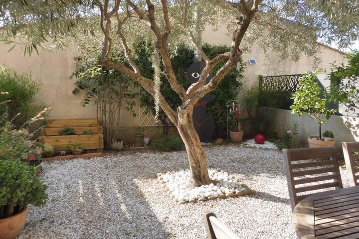 Appartement au calme à Vallauris - Golfe Juan
