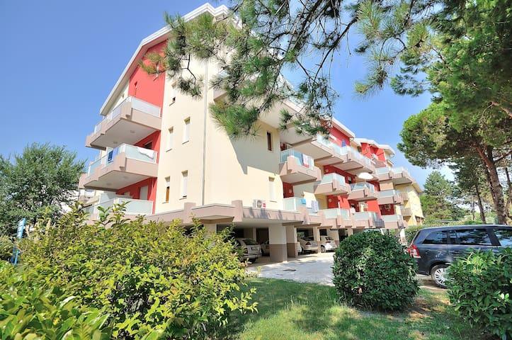 Condominio Marina Piccola, 6 posti,2 camere, clima