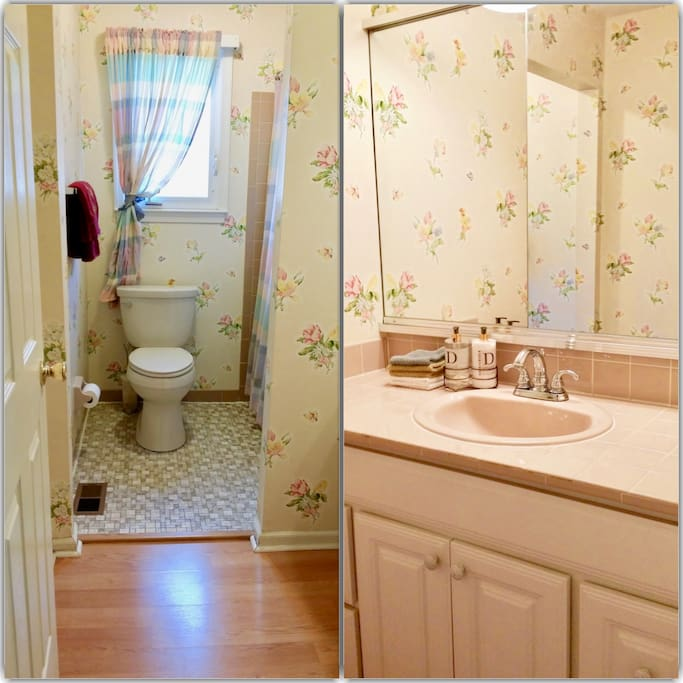 Enjoy your own bathroom down the hallway.  Please note that if we are hosting another guest, the bathroom will be shared.