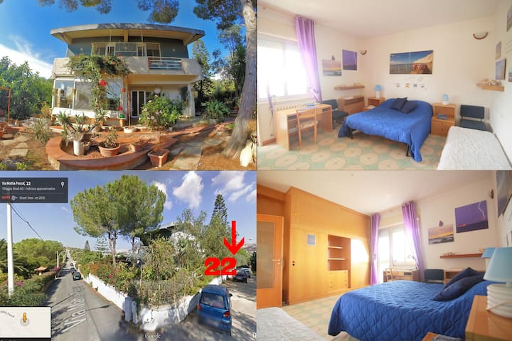 SeaRoom - Temples/kitchen/Wifi/Transports - Agrigento - Villa