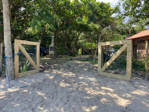 Casa bela pé na areia na vila pitanga!!!