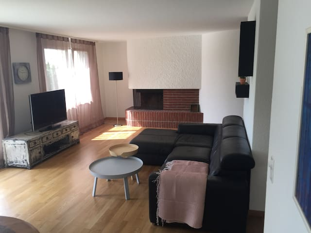 Modern appartement on top of Zurich - Birmensdorf - Huoneisto