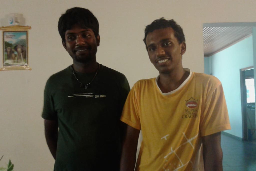 meet your hosts Roshan and Kobi who will look after you during your stay