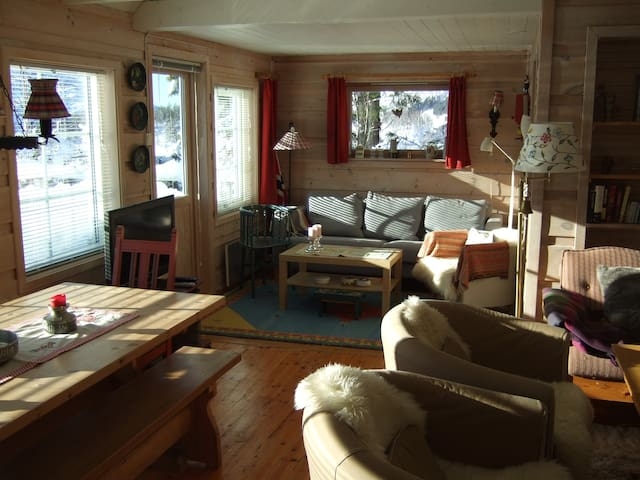 Vacationhouse near Bergen and  the Hardanger fjord - Kvamskogen