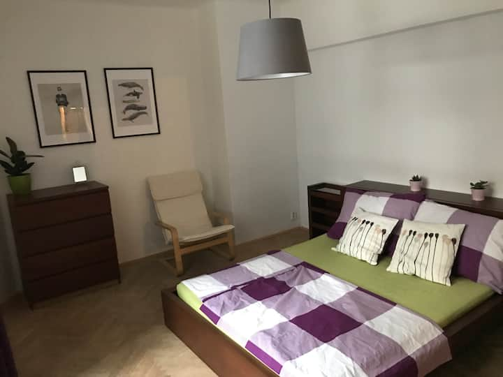 2 bedrooms cozy flat 10 minutes from the center