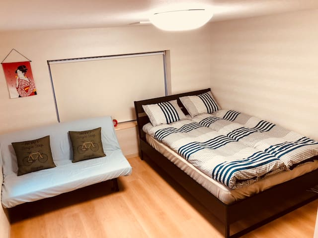 Private apt/Ginza/1 min to stat./direct to airport
