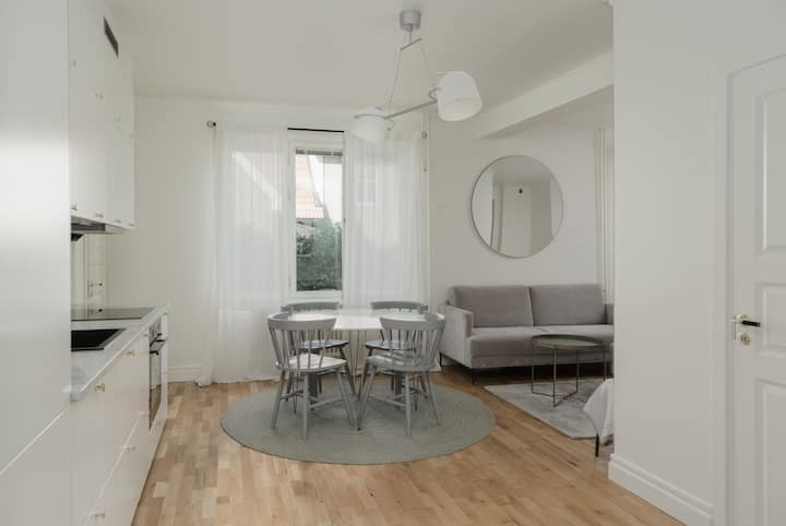 Explore Sthlm from this Modern and Stylish Flat