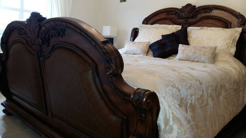 Wait until you see the size of this oversized SuperKing bed!