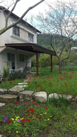 A cozy apt in a pastoral village - Yokne'am Moshava
