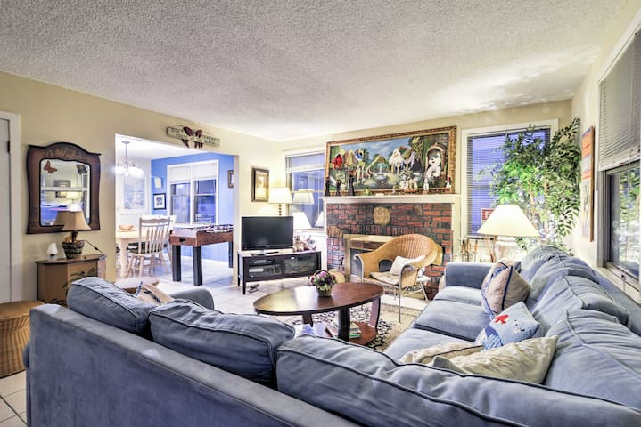 NEW! Cozy 3BR Seaside Heights House -Walk to Beach