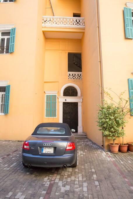Front Gated Door