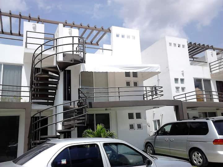 Precioso departamento con alberca y roof, Cuautla.